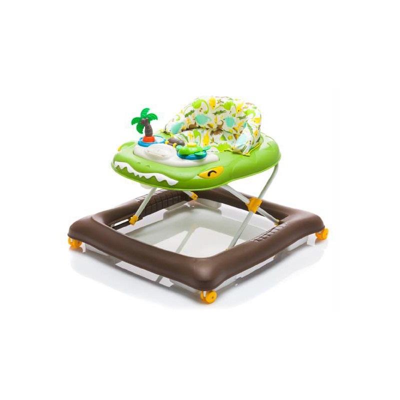 Premergător cu jucărie, Crocodil Verde, BG1029, Fillikid