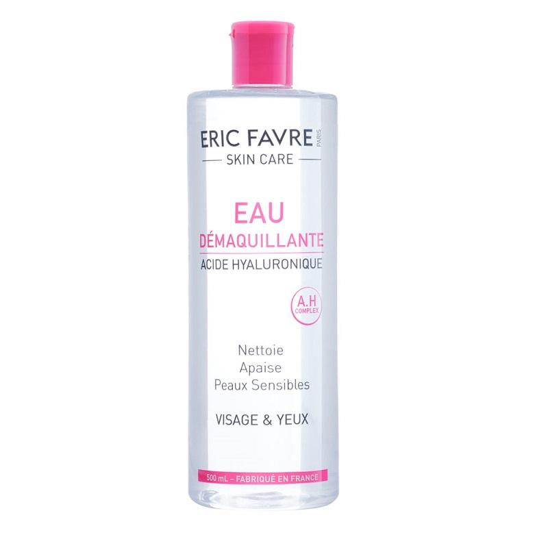 Apa demachiantă cu acid hialuronic, 500 ml, Eric Favre