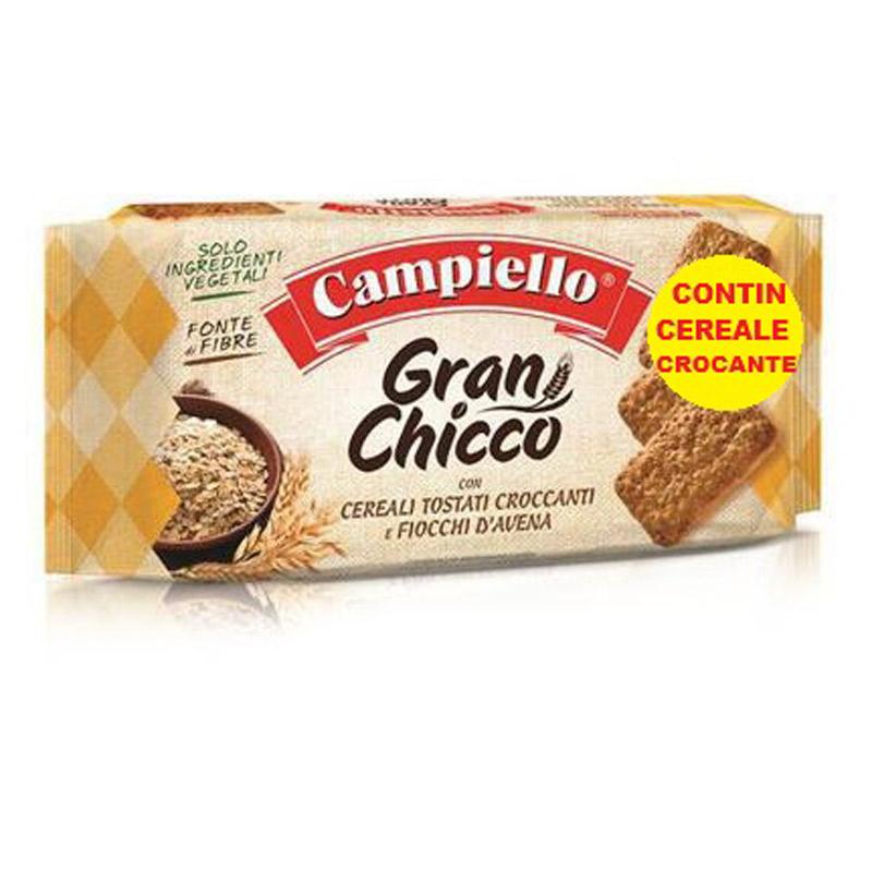 Biscuiti Gran Chicco, 410 g, Campiello
