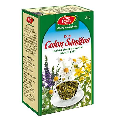 ceai pentru colon