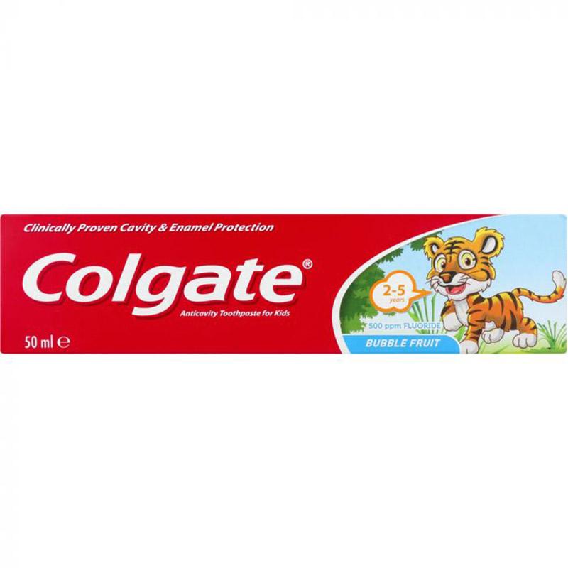 Pastă de dinți pentru copii, 2-5 ani, 50 ml, Colgate
