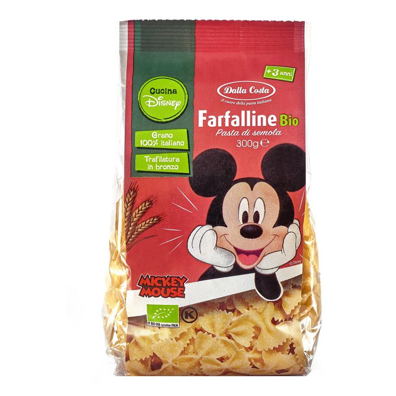 Paste Bio Farfalline, 300 g, Dalla Costa