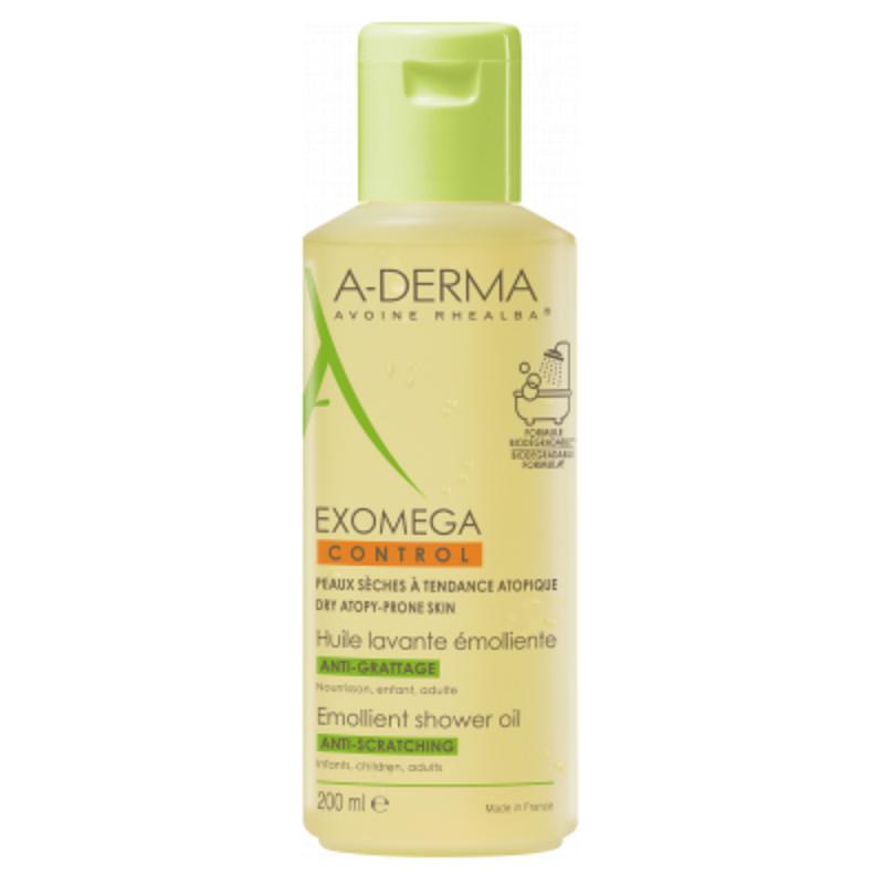 Ulei de duș anti-prurit Exomega Control, 200 ml, Lab A-Derma