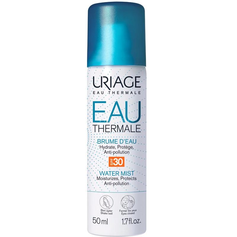 Apa termală Spray cu SPF 30, 50 ml, Uriage