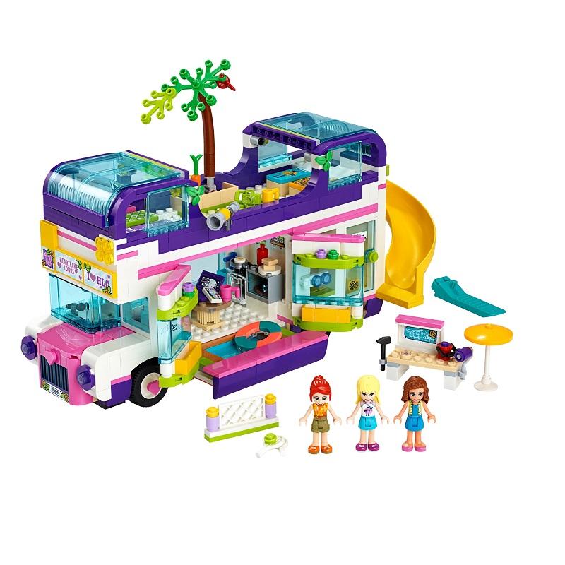 Autobuzul prieteniei, L41395, Lego Friends