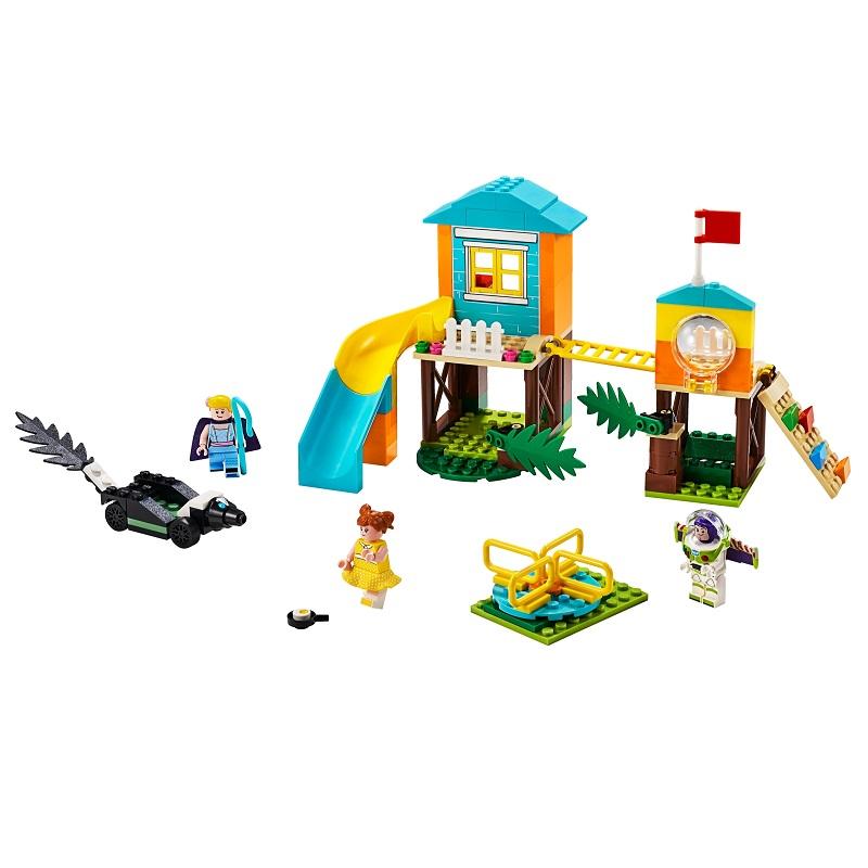 Aventura lui Buzz si Bo Peep pe terenul de joacă, L10768, 4+, Lego Toy Story 4