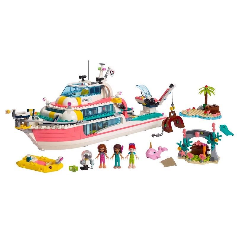 Barcă pentru misiuni de salvare, L41381, Lego Friends