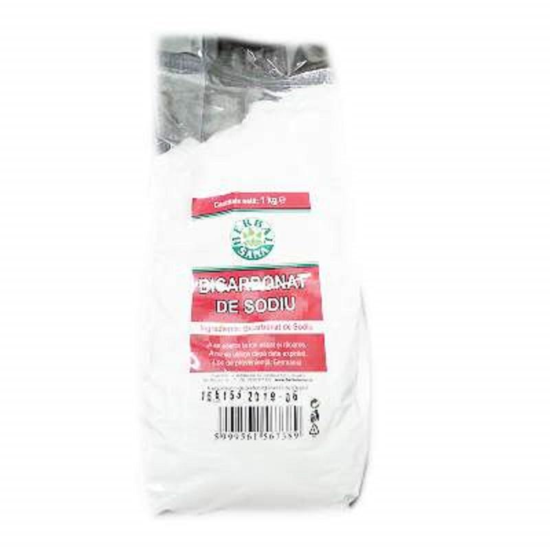 Bicarbonat de sodiu, 1kg, Herbal Sana