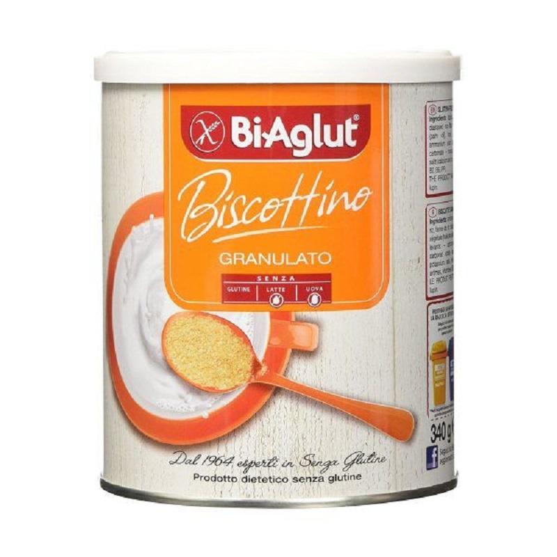 Biscuiti granulati fara gluten ou si lactoza, 340 g, BiAglut