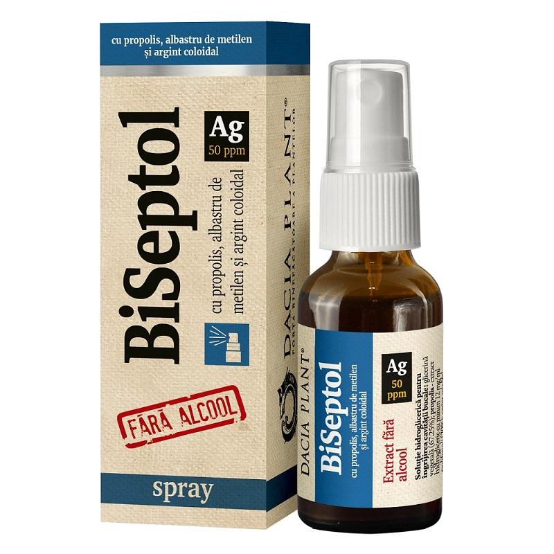 BiSeptol spray, 20 ml, Dacia Plant