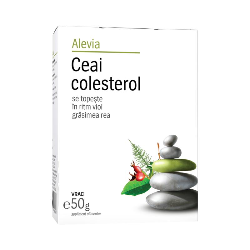 Ceai colesterol, 50g, Alevia