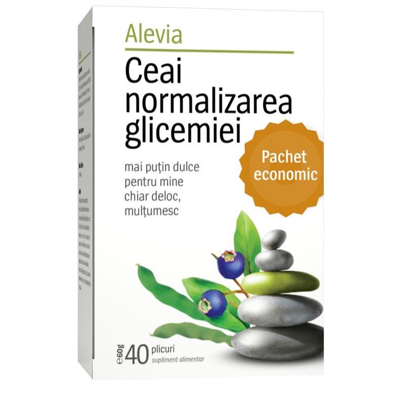 Ceai normalizarea glicemiei, 50 g, Alevia