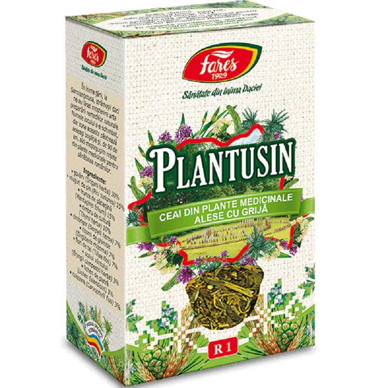 Ceai - Plantusin, R1, 50 g, Fares
