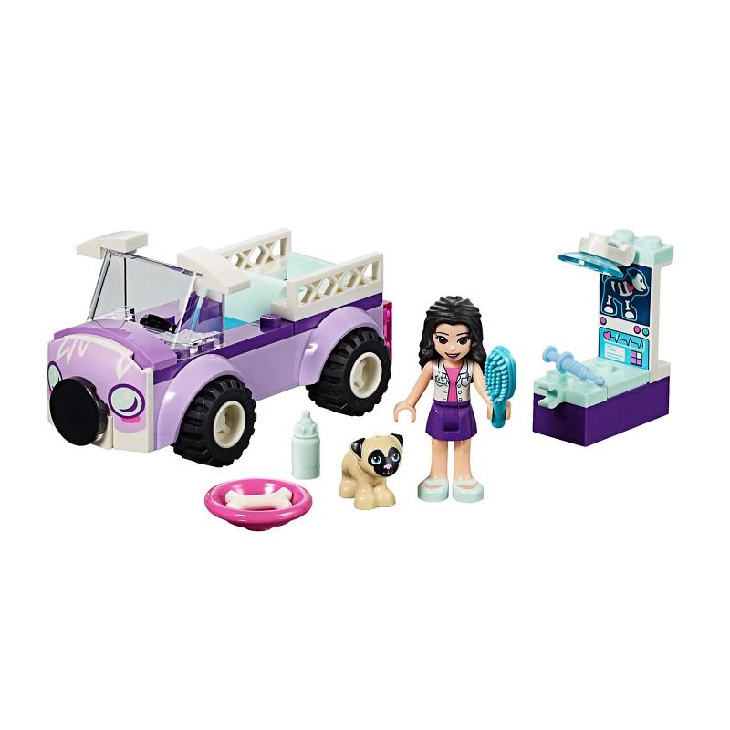 Clinica veterinară mobilă a Emmei, L41360, Lego Friends