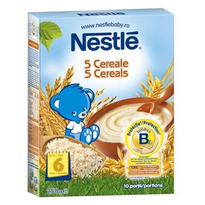 5 Cereale, +6 luni, 250 g, Nestle