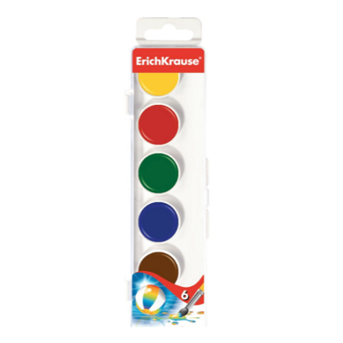 Acuarele mini, 6 culori, 29052, ErichKrause