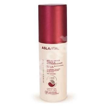 Apa de argila tonica si remineralizanta AslaVital, 150 ml, Farmec