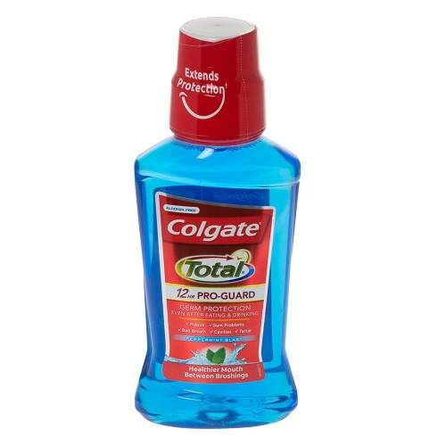 Apă de gură Pro Guard Peppermint, 500 ml, Colgate