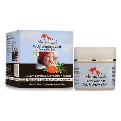 Balsam pentru protecția feței împotriva vântului și frigului, 50 ml, Mommy Care