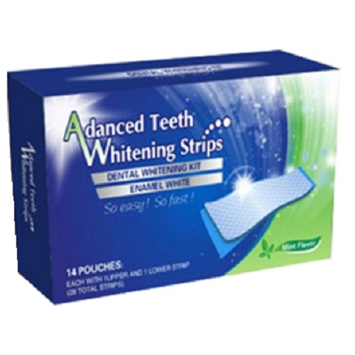Benzi pentru albirea dinților - 360 White, 28 buc, Advanced Teeth
