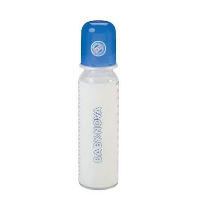 Biberon, din sticlă, 250 ml, 44105, Baby Nova