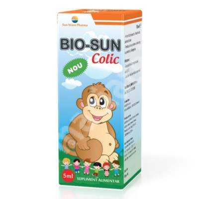 Bio Sun Colic, 5 ml, Sun Wave Bio