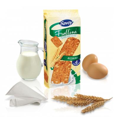 Biscuiți cu cereale - Frollini, 410g, Savoy