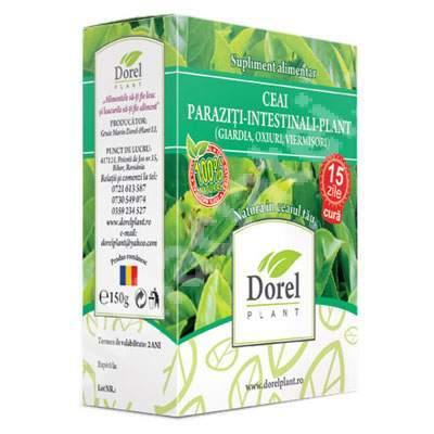 paraziți în ceai)