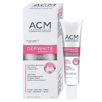Cremă depigmentantă Depiwhite Advanced, 40 g, ACM