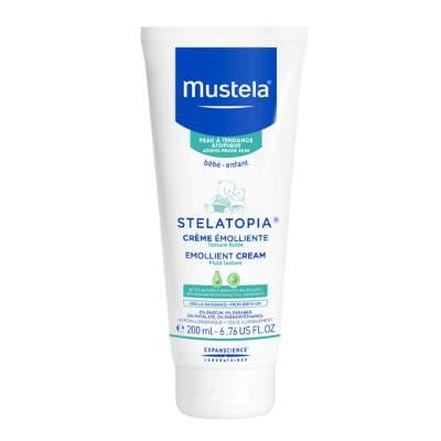 Cremă emolientă pentru pielea uscată cu tendință atopică Stelatopia, 200 ml, Mustela