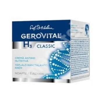Cremă nutritivă antirid de noapte Gerovital H3 Classic, 50 ml, Farmec