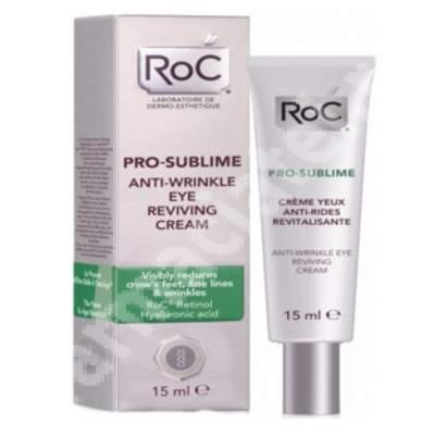 Cremă pentru ochi antirid revitalizantă Pro-Sublime, 15 ml, Roc