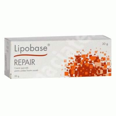 Cremă specială pentru piele foarte uscată Lipobase Repair, 30 g, Astellas