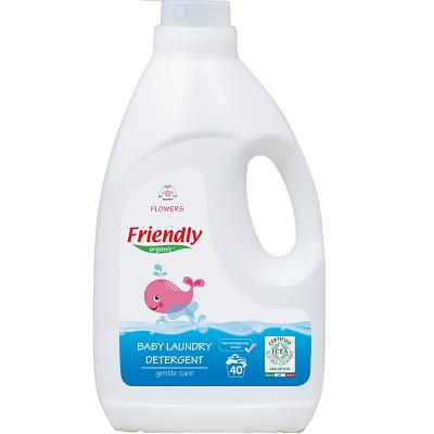 Detergent rufe bebe cu miros de flori, 2000 ml, Friendly