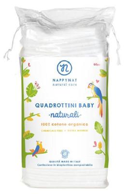 Dischete naturale pentru curățare, 60 bucăți, Nappynat