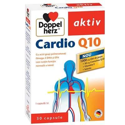 Doppelherz Aktiv Cardio Q10, 30 cps, Queisser Pharma