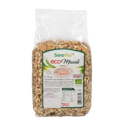 Eco Musli basic, 750 g,Sanovita