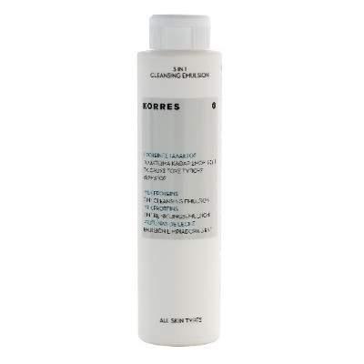 Emulsie-spumă 3 în1 de curățare cu proteine din lapte, 200 ml, Korres