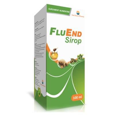 FluEnd Sirop, 100 ml, Sun Wave Pharma