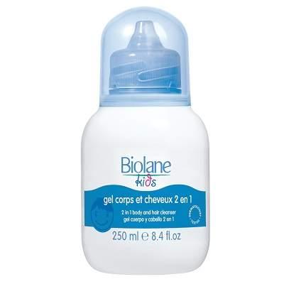 Gel de curățare pentru păr și corp, +3ani, 250ml, Biolane