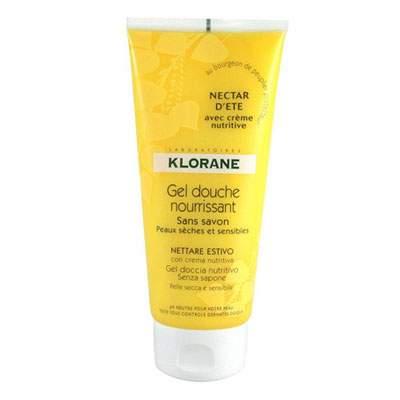 Gel de duș Nectar de vară, 200 ml, Klorane