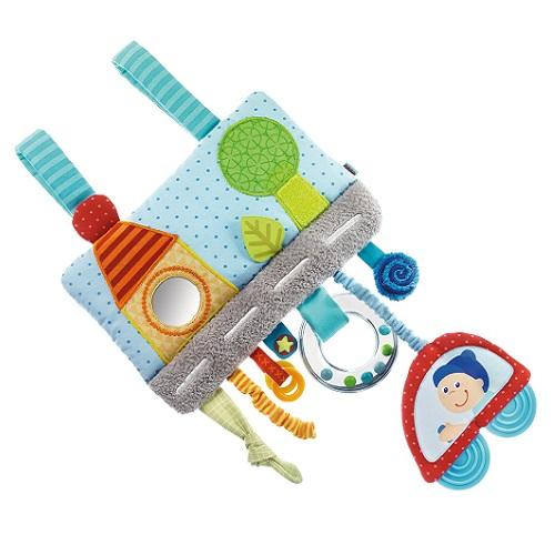 Jucărie de pluș pentru pătuț, cu sunet, Haba
