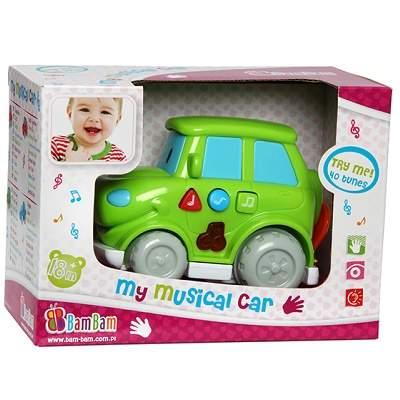 Jucărie mini Jeep muzical, 300237, Bambam