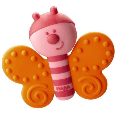Jucărie silicon Fluture, 300434, Haba