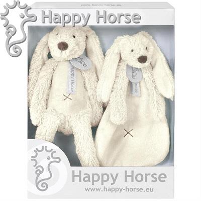 Jucării de pluș Iepurașul Richie Ivory set, 17348, Happy Horse