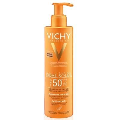 Lapte de corp anti-nisip SPF50+Ideal Soleil, 200ml, Vichy