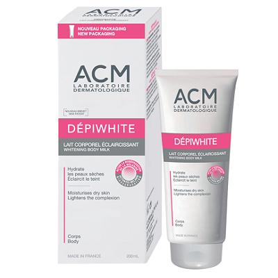 Lapte de corp pentru luminozitate Depiwhite, 200 ml, ACM