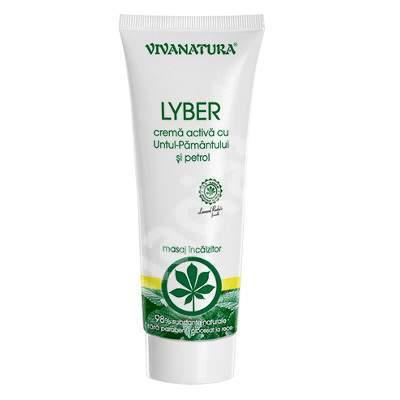Lyber - crema activa cu Untul Pamantului si Petrol 500 ml, Vivanatura