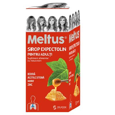 Meltus Expectolin sirop pentru adulti, 100 ml, Solacium Pharma