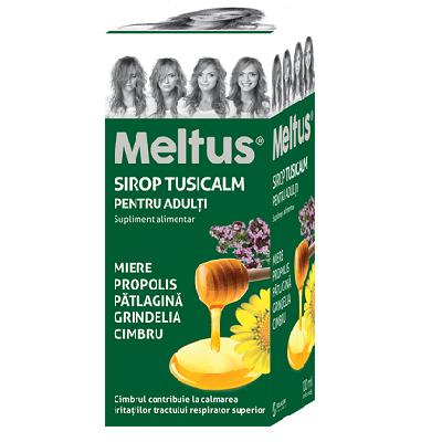 Meltus Tusicalm Sirop pentru Adulti, 100ml, Solacium Pharma